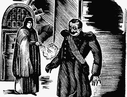 Вера Засулич стреляет в Ф.Трепова. Ксилография из памфлета «Народной воли». XIX век