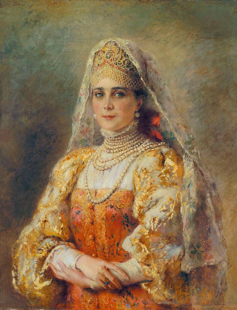 Русские боярышни картинки