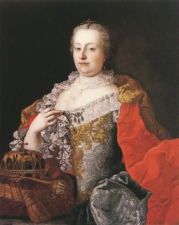 Мартин ван Майтенс. Портрет императрицы Марии-Терезии