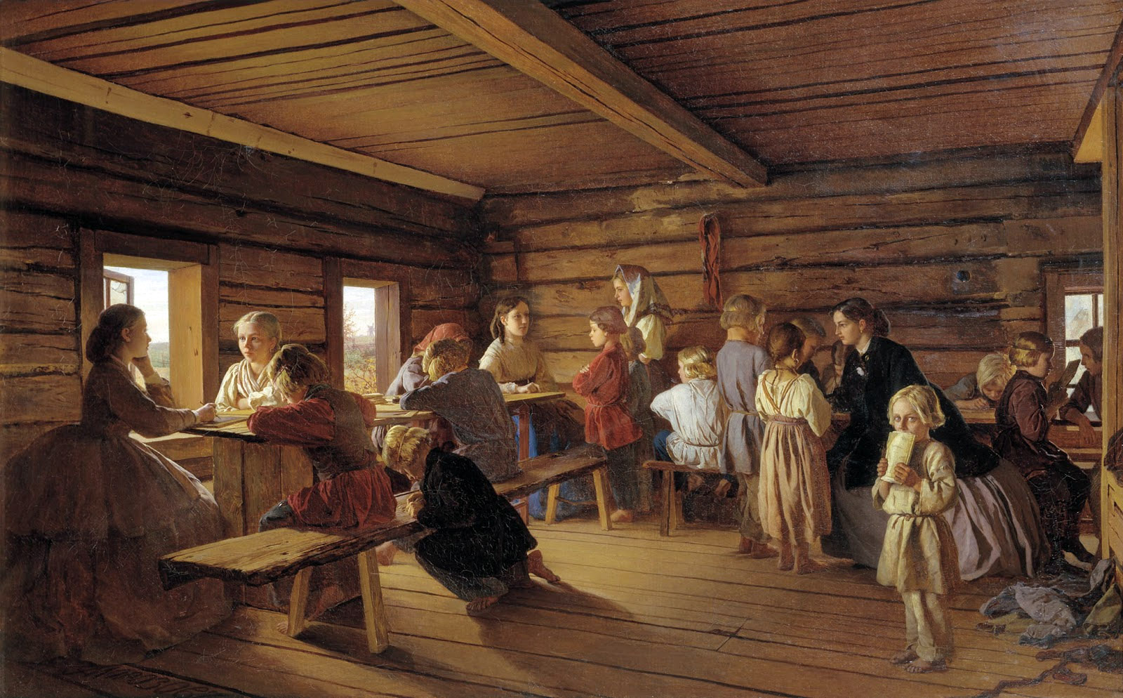 какие уроки были в 18 веке
